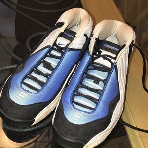 Nike Xoom air Kevin Garnett 3 blue and white